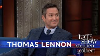 Thomas Lennon Debuts Scenes From His New Book