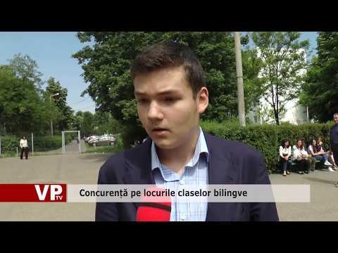 Concurență pe locurile claselor bilingve