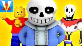 UNDERTALE VISITS LEGOLAND! - Gmod Sans Papyrus Mod