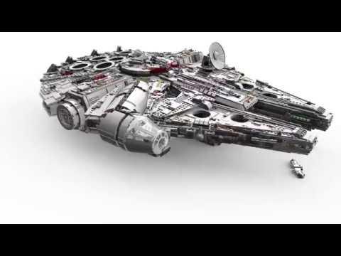 Конструктор Сокол Тысячелетия - LEGO 10 Series - фото № 29