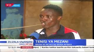 TENISI YA MEZANI: Mchezaji Brian Mutua aendelea na maandalizi ya Bara Afrika | #ZILIZALAVIWANJANI