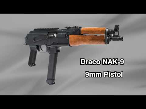 Draco NAK-9 AK-Style Pistol