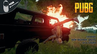 🔵 PUBG #336A PC Gameplay Live Stream | 966 WINS! NEW UPDATE 15 SAHNOK MAP, NEW WEAPON QBZ95 & MORE