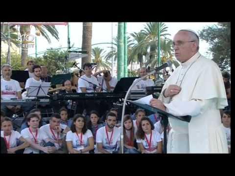 Rencontre avec les jeunes de Cagliari