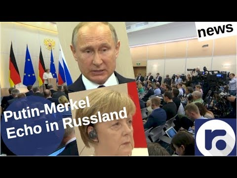 Gipfel Putin-Merkel: Echo in Russland [Video]