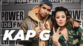 "Kap G Announces A Pharrell Collab, Talks ""A Day Without A Mexican"" Song + Importance Of Voting"