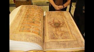 Библия дьявола – труд неизвестного монаха где изображен нечистый