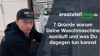 Waschmaschine läuft aus - Fehleranalyse