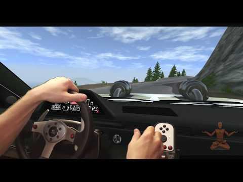 Realistic Driving - BeamNG Drive - Logitech G25