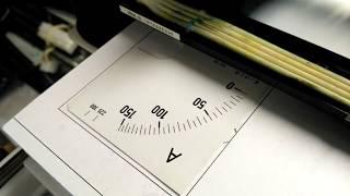 Печать шкал приборов