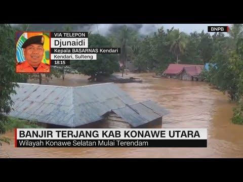 Banjir Rendam Kabupaten Konawe Utara, 8 Desa Terisolir