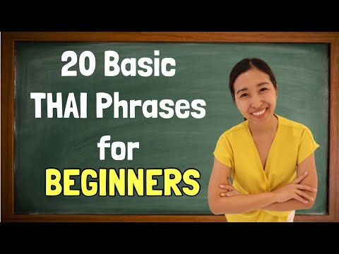 20 Basic Thai Phrases You Should Know to Start Speaking Thai Right Now | Thai for Beginners