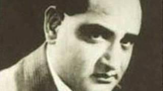 Nuktacheen Hai Ghame Dil Yahudi Ki Ladki K L Saigal
