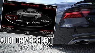 AUDI DRIVE SELECT DEUTSCH - Erklärung (+ English subtitles)