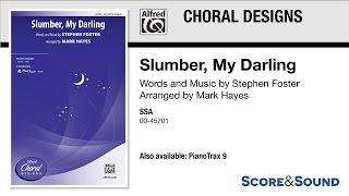Slumber, My Darling, arr. Mark Hayes – Score & Sound