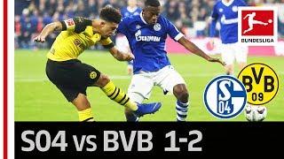 Schalke 04 vs. Borussia Dortmund I 1-2 I Highlights I Jadon Sancho Becomes The Revierderby Hero