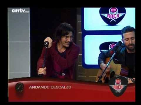 Andando Descalzo video Entrevista CM Rock - 28-10-2014