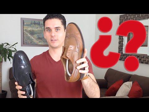 Tipos de zapatos para hombre | Reglas de etiqueta, tips, y usos para 5 tipos de zapatos