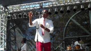 Anthony David Performs Body Language live at the BB Jazz festival 2012