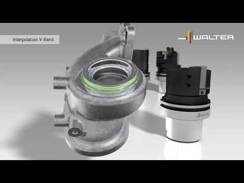Turbolader-Bearbeitung