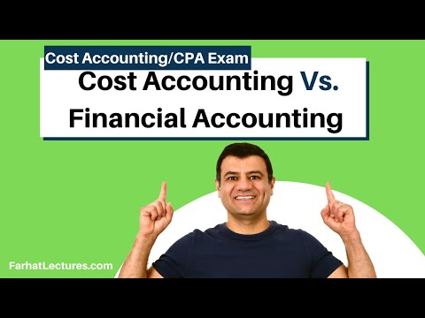 Cost Accounting and Financial Accounting Differences. Cost ...