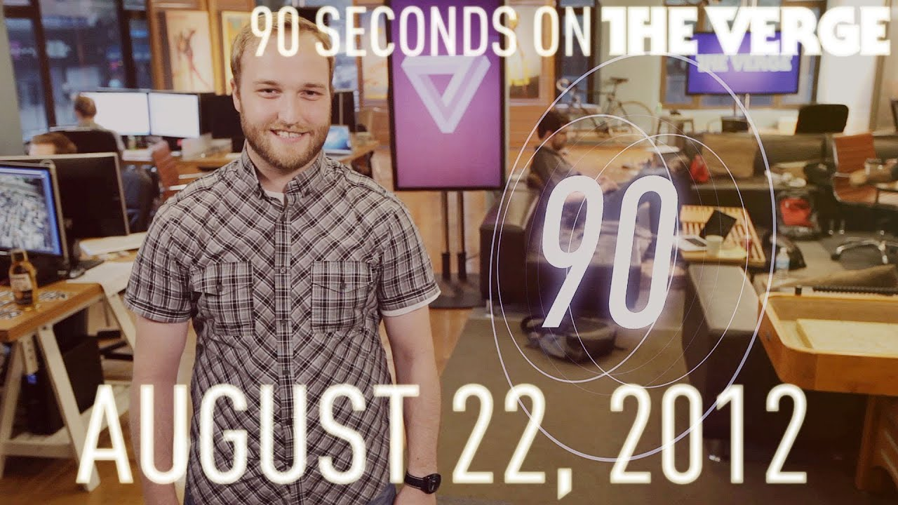 FaceTime, T-Mobile Unthrottled, and more - 90 Seconds on The Verge: Wednesday, August 22, 2012 thumbnail