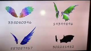 Roblox Wings Id Codes 123vid - cool wings codes roblox high school