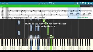Naina Da Kya Kasoor (Andhadhun)    Piano   - YouTube