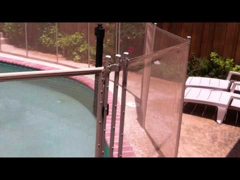 Baby Guard Pool Fence after Installation