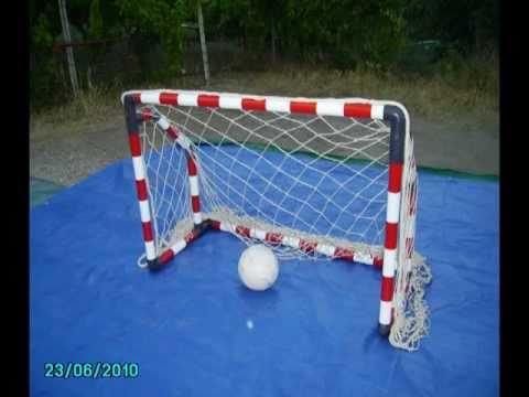 Cómo hacer una portería de futbol de PVC