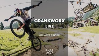 It's that MTB Slopestyle time of the year. | Crankworx FMBA Slopestyle Les Gets France 2018