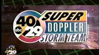 40/29 Super Doppler Storm Team Ad from the late 90s
