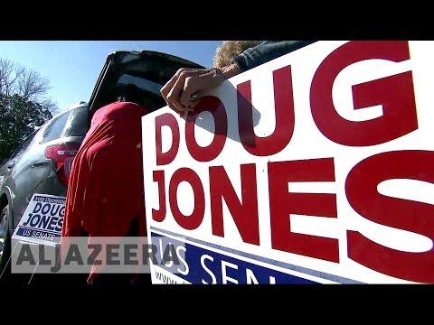 Alabama senate election: New poll shows Doug Jones ahead of Roy Moore