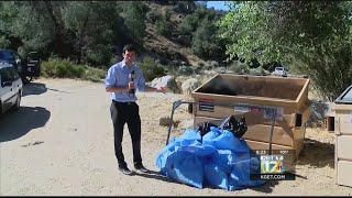 KEEPERS OF THE KERN: Kern River Valley volunteers ensure campgrounds stay clean