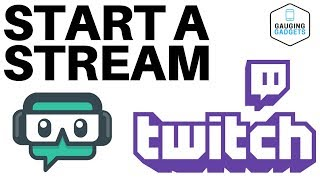 How To Start A Twitch Stream With Streamlabs OBS - Twitch Tutorial