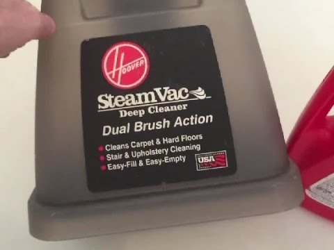 Hoover Steamvac: Carpet Cleaner Thrift Find & Trial