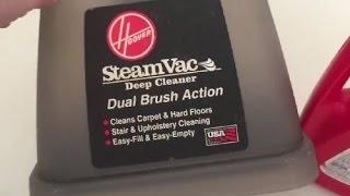 Hoover Steamvac: Carpet Cleaner Thrift Find & Trial