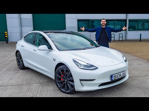 I Bought A New TESLA Model 3 Performance! And Sent The GR Yaris To Yiannimize!
