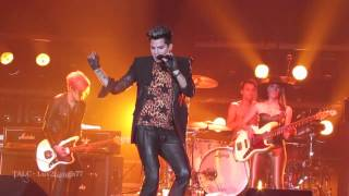 Adam Lambert - HD - Kickin In - Fantasy Springs - Indio, CA