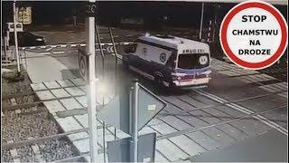 Wypadek Karetki Na Przejeździe Kolejowym W Puszczykowie - Ku Przestrodze #215 Wasze Filmy