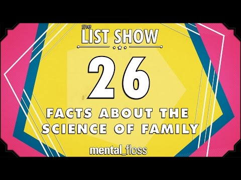 26 Facts about the Science of Family  - mental_floss List Show Ep. 442