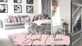 60 MINUTE SPEED CLEAN! CLEANING TIPS & MOTIVATION | Lucy Jessica Carter