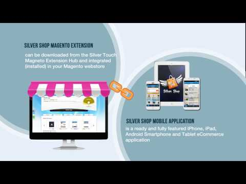 Video of Magento Silver Shop