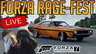 Forza 7 - Forza RC Sweat-A-Thon is back! | CHANCES OF RAGE QUIT = 99.92%