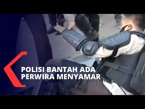 viral polisi saling pukul saat demo polri salah paham
