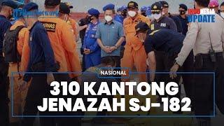 Hasil Pencarian Hari ke-10 Sriwijaya Air Dapatkan Total 310 Kantong Jenazah dan 55 Potongan Pesawat