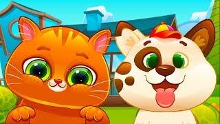 Песик Дуду  друг котика БУБУ Мультик игра про собачку Видео для детей #УШАСТИК КИДС