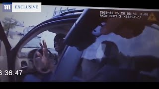 video: Police pointed gun at George Floyd  seconds after approaching him, body camera footage shows