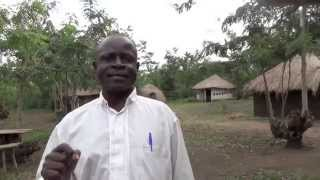 preview picture of video 'Muhokya Primary School Headmaster speaks about lions @ Leopard Village cultural site'