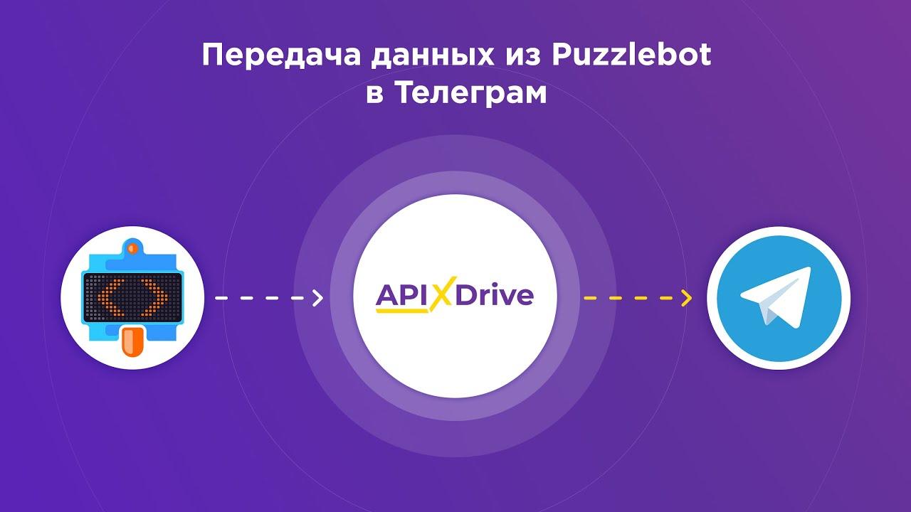 Как настроить выгрузку данных из Puzzlebot в виде уведомлений в Telegram?